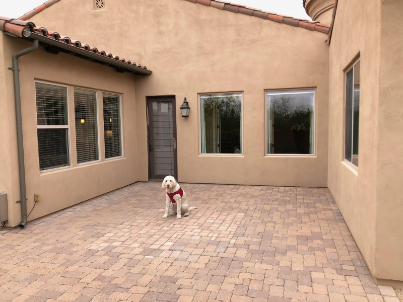 Designing a Courtyard in Scottsdale, Arizona