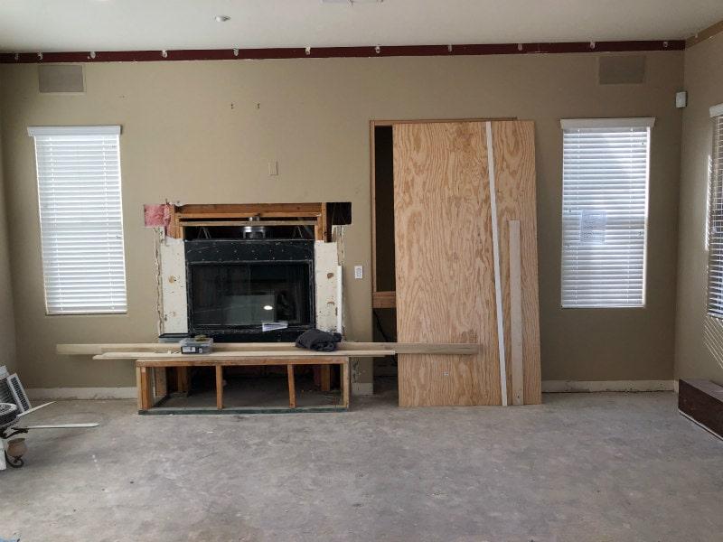 Family Room Remodel in Scottsdale, Arizona