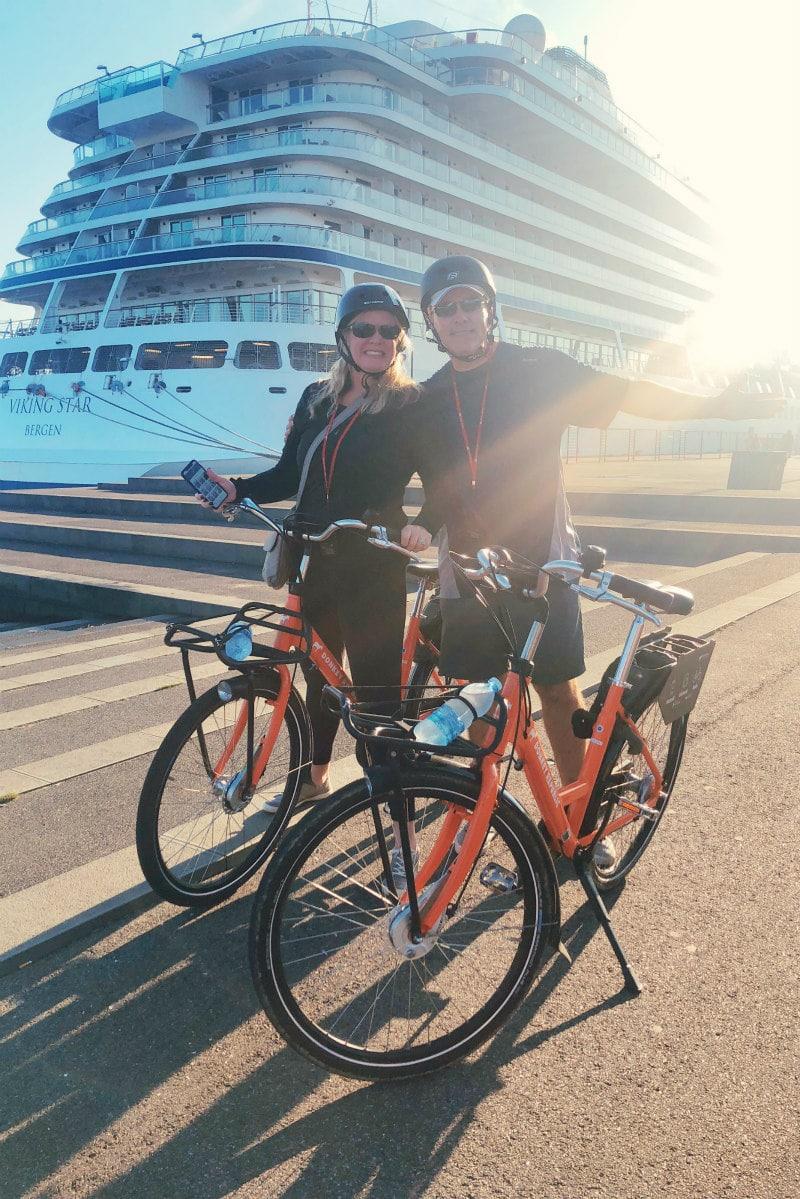 Aalborg, Denmark biking tour with Viking Cruises