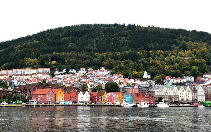 Waterfront in Bergen, Norway