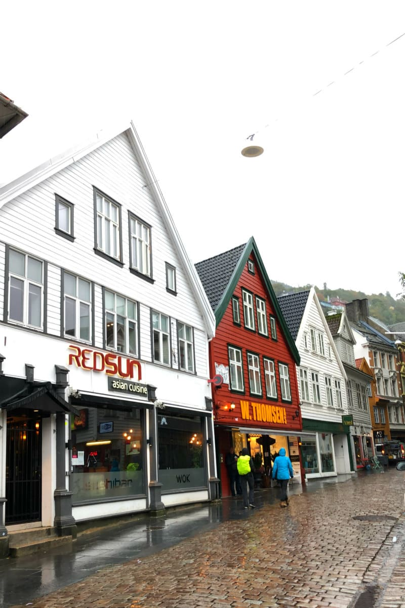Streets of Bergen, Norway