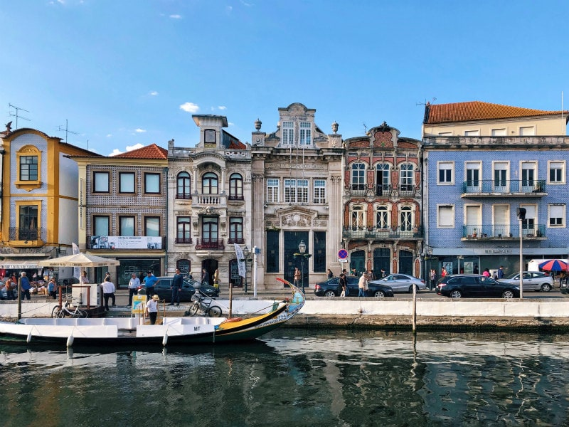 Waterfront in Aveiro, Portugal