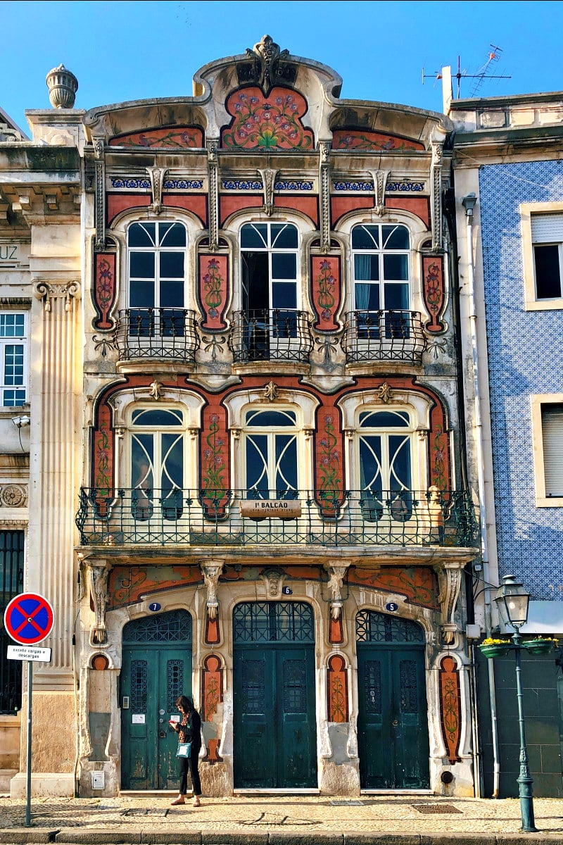 Buildings in Aveiro, Portugal