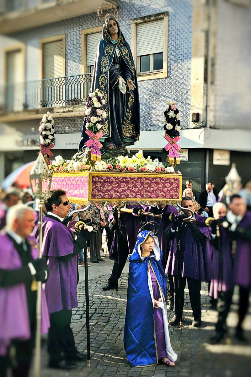 Catholic Lent Parade in Aveiro, Portugal