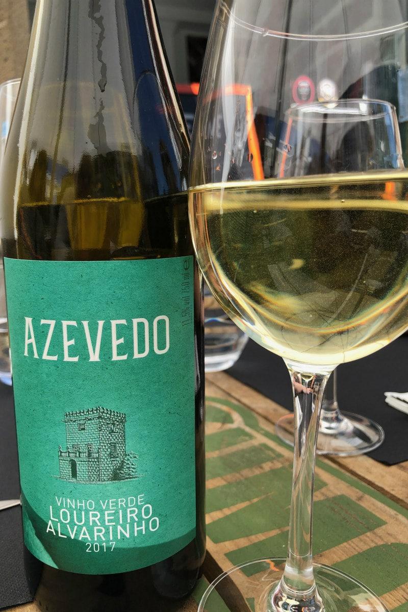 Vinho Verde in Braga, Portugal