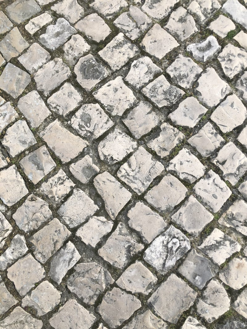 Tiled Streets in Portugal