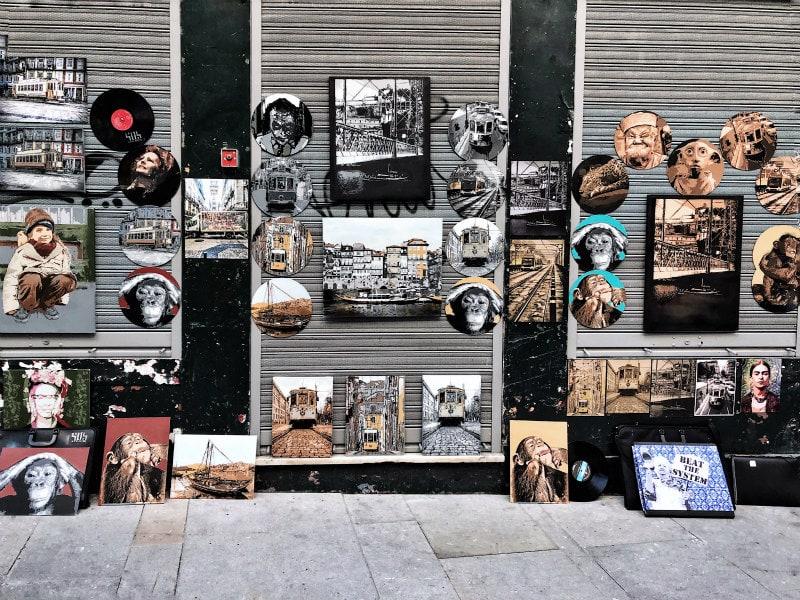 Street Vendors in Porto, Portugal