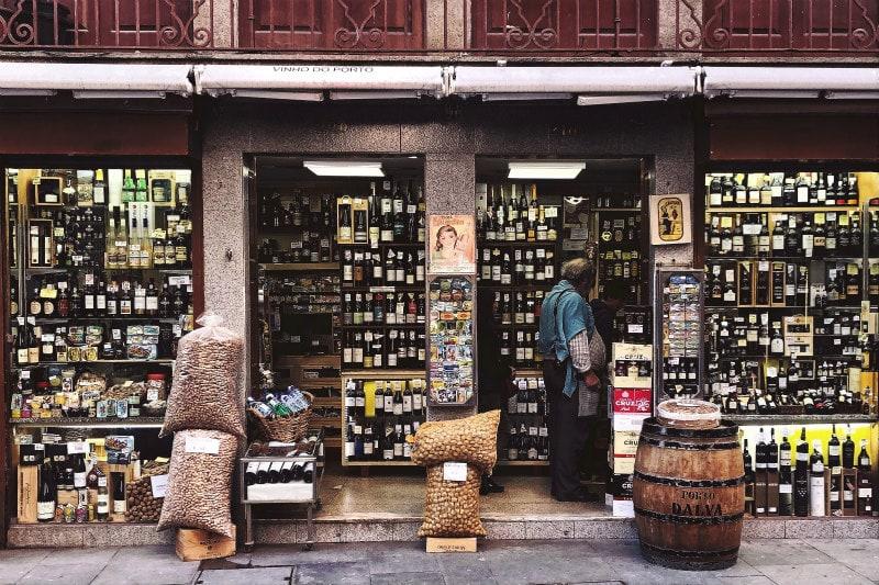 Shop in Porto, Portugal