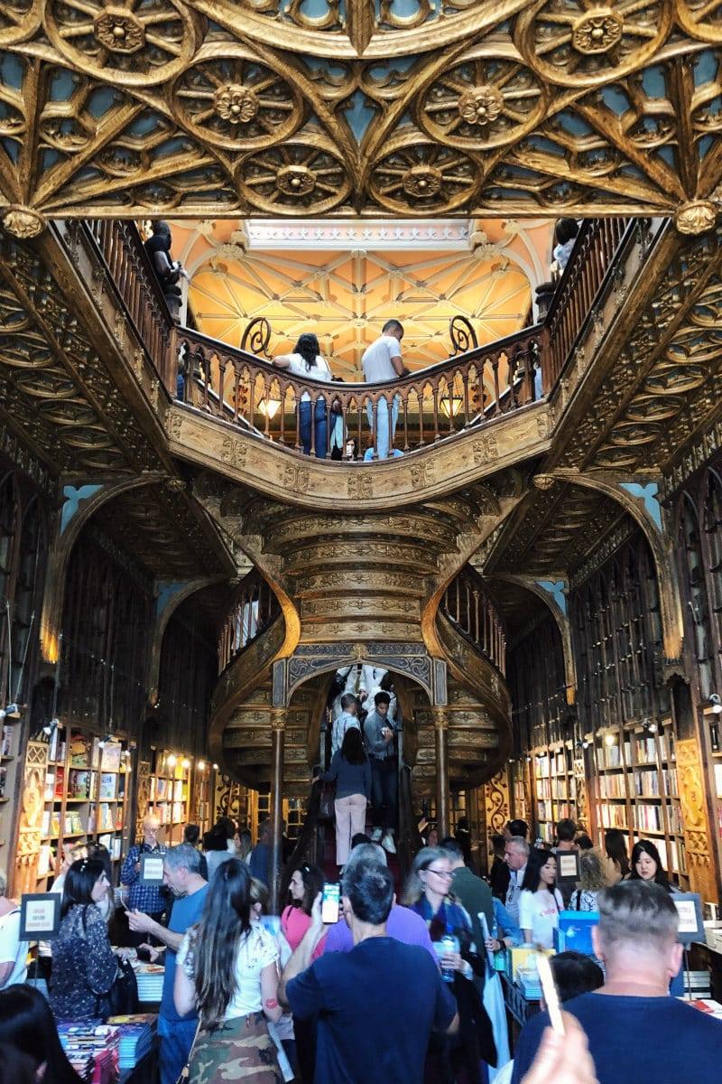Livraria Lello in Porto, Portugal