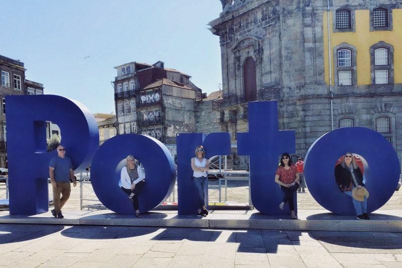 City Center in Porto, Portugal