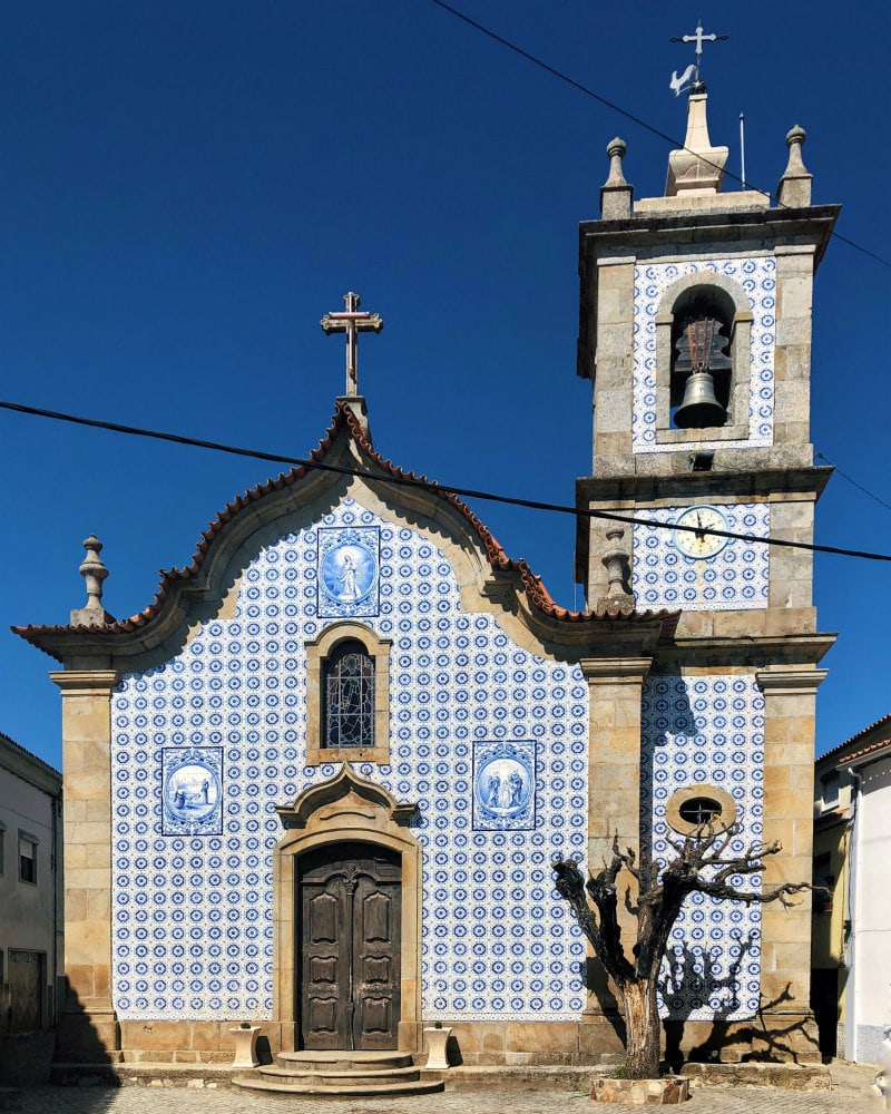 church in Castelejo, Portugal