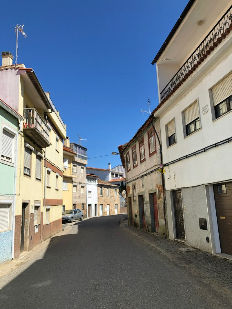 street in Castelejo, Portugal