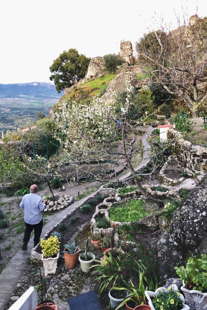 Garden in Monsanto, Portugal