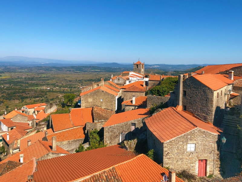 Rooftops of Monsanto, Portugal