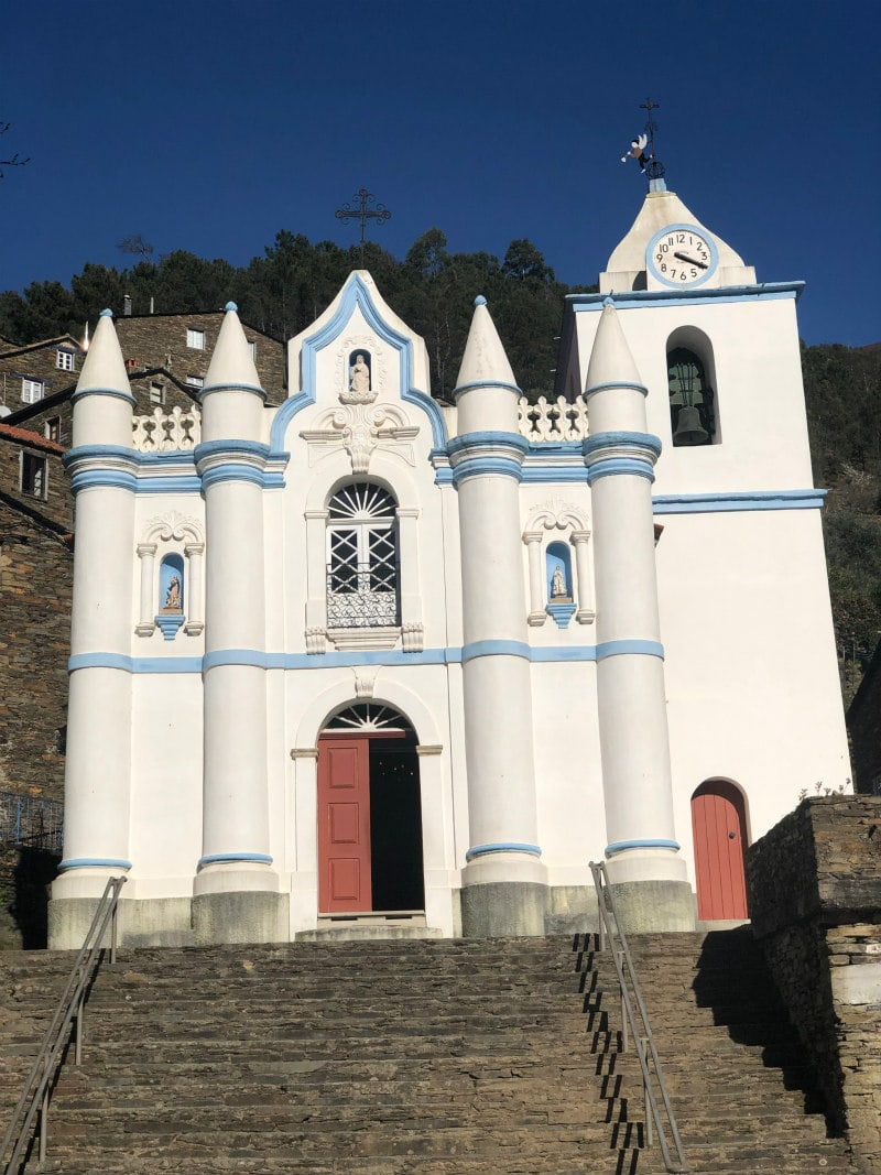 church in Piodao, Portugal