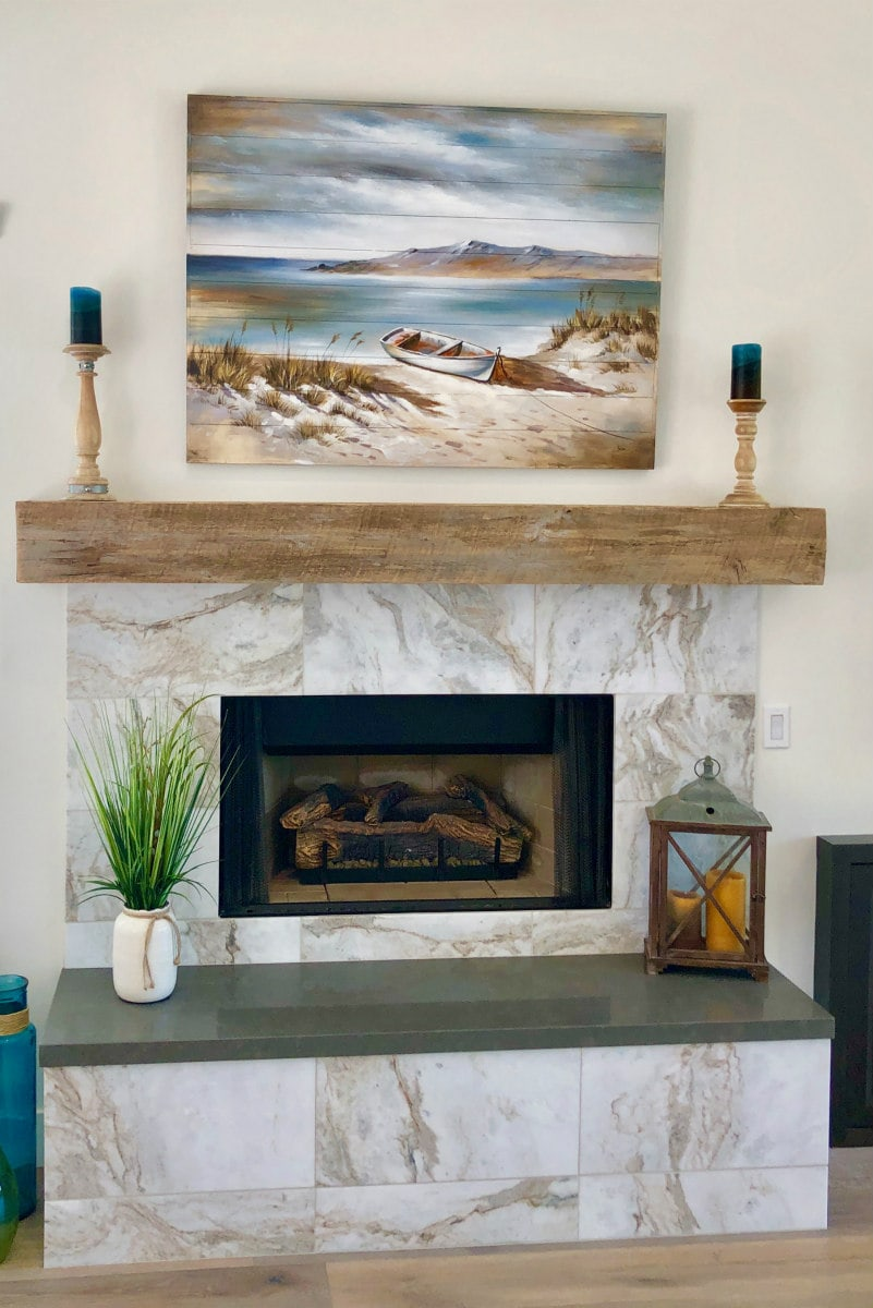 Fireplace Remodel in Scottsdale, Arizona