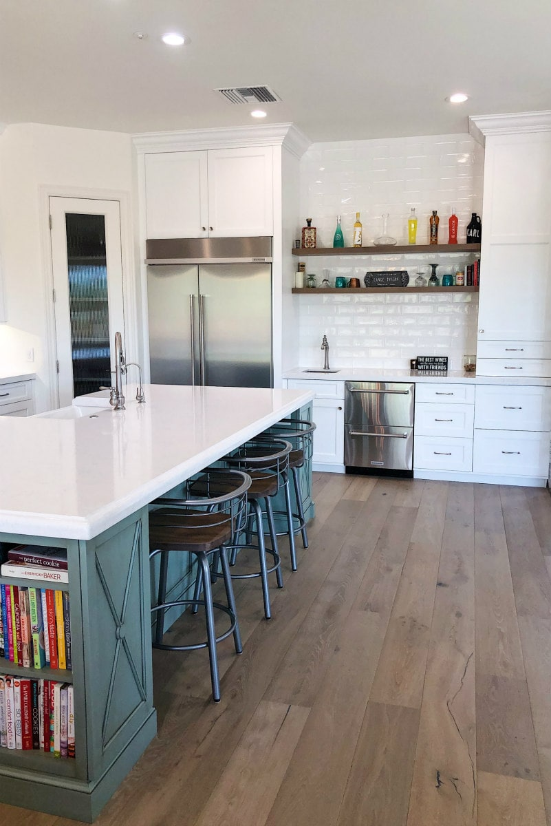 After photo of Kitchen Remodel