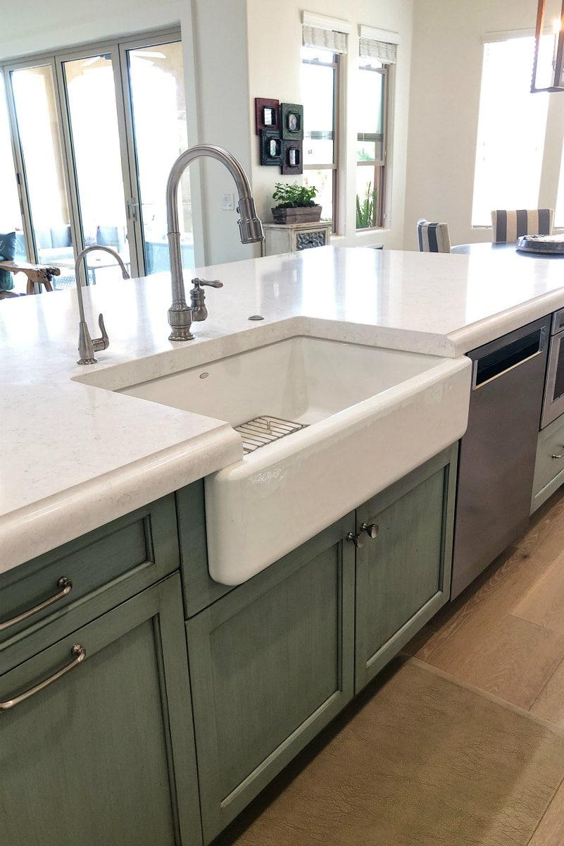 Sink area of Scottsdale Kitchen Remodel