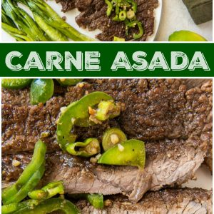 pinterest collage image for carne asada