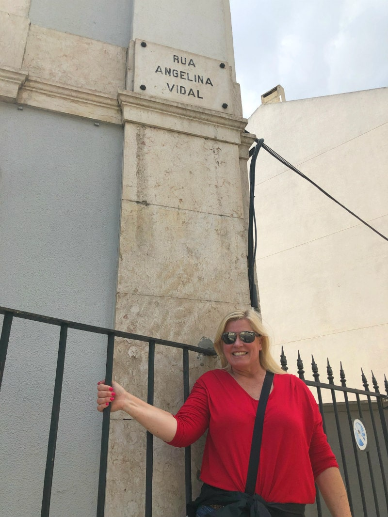Rua Angelina Vidal in Lisbon, Portugal
