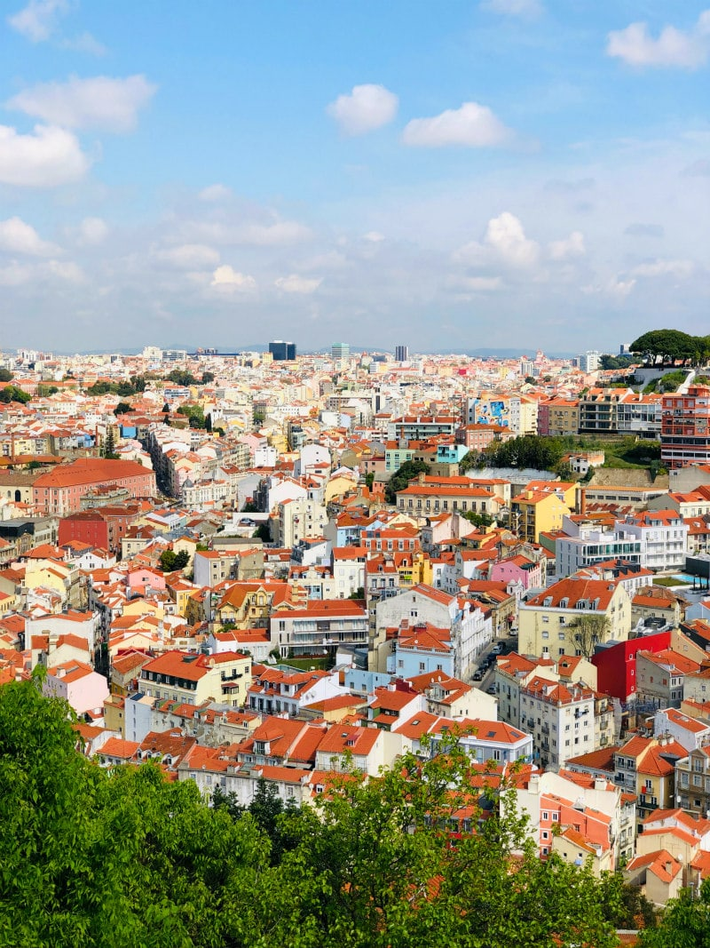 View to Lisbon, Portugal