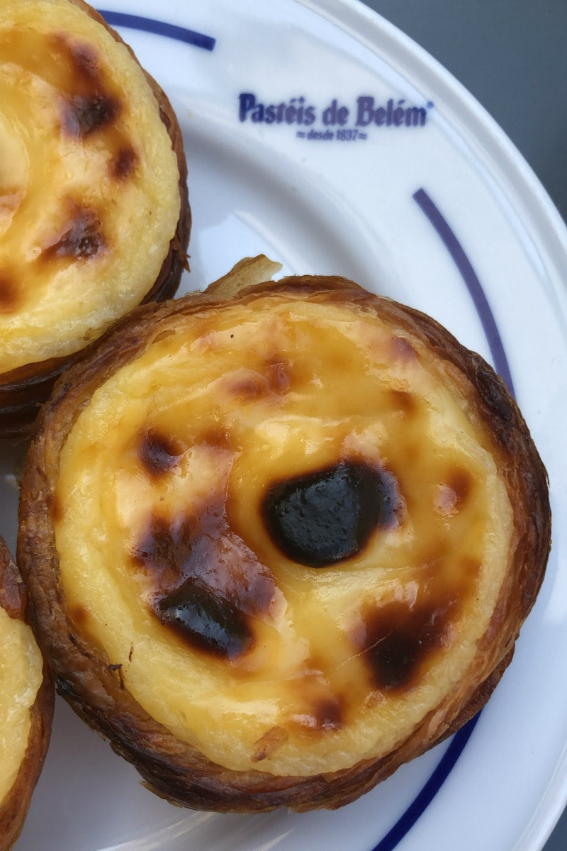 Nata Custard Tarts in Portugal