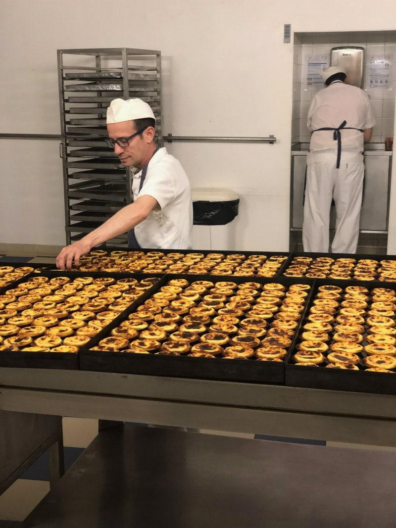 Making Pastel de Nata in Belem, Portugal