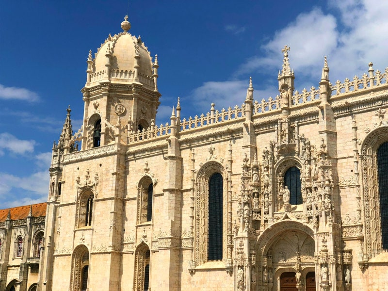 Jeronimos Monastery in Belem, Portugal