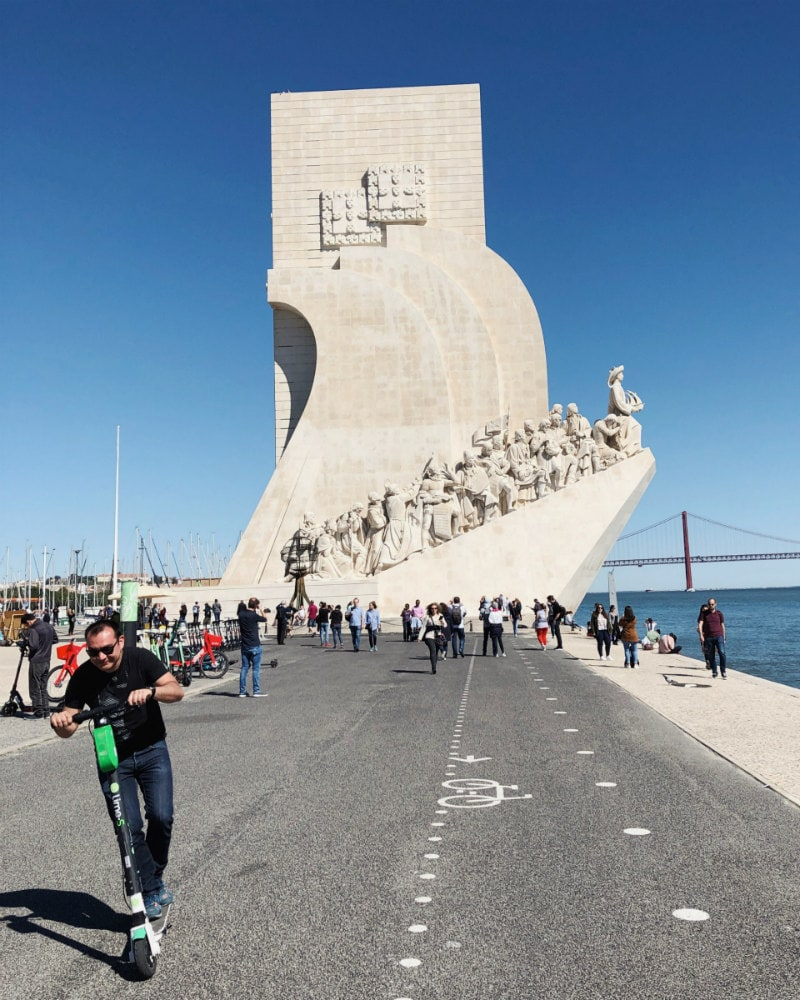 Monument of the Discoveries in Belem, Portugal