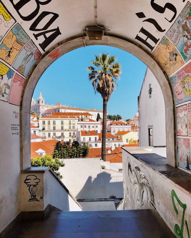 Sight in Lisbon, Portugal