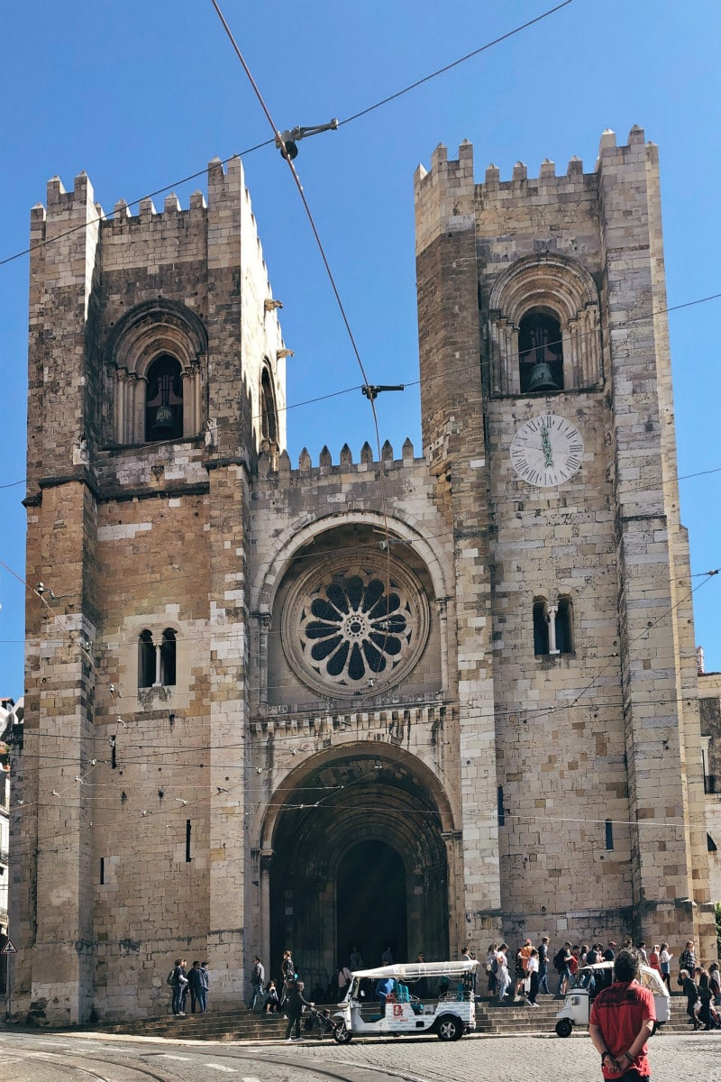 Se Cathedral in Lisbon, Portugal