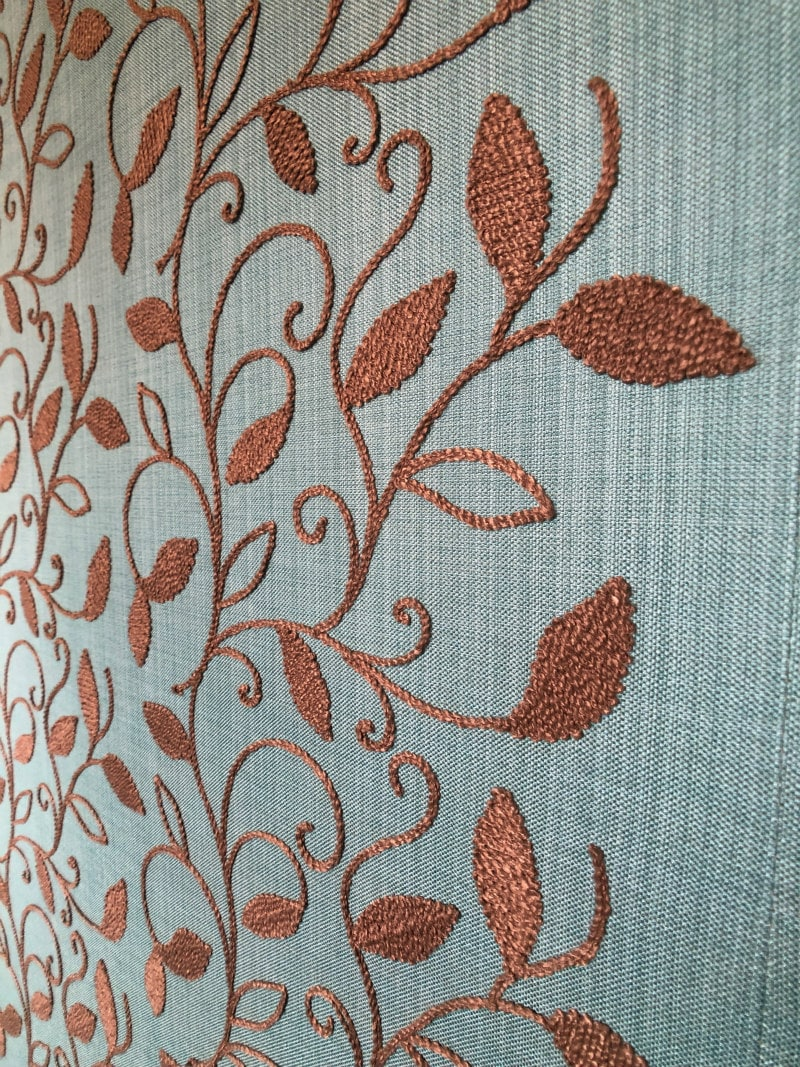 Fabric walls at The Montague on the Gardens