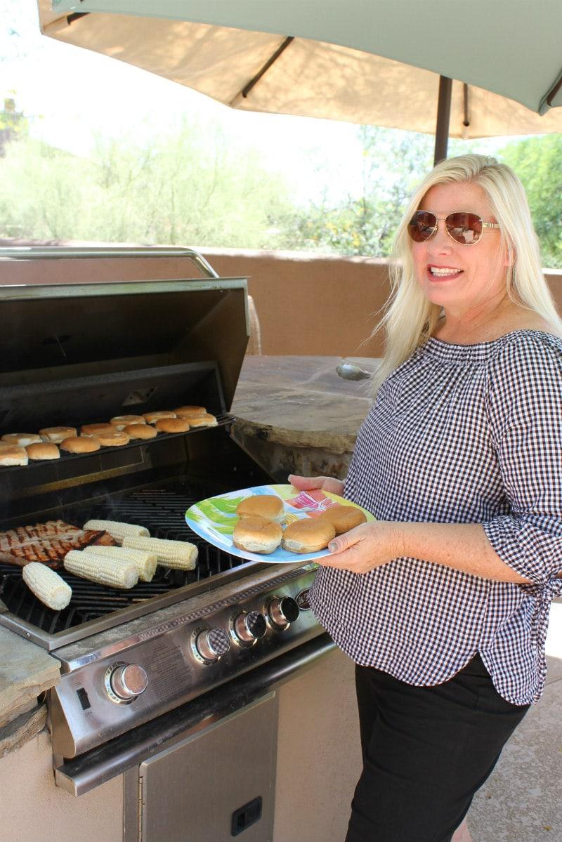 Grilling Pork Sliders