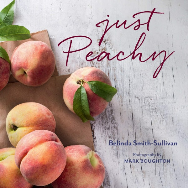 cover of the Just Peachy cookbook