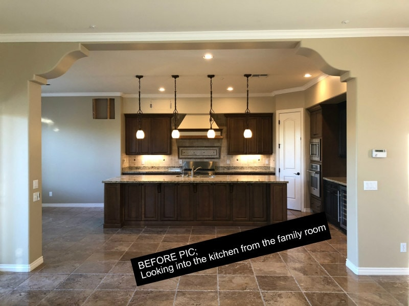Before picture of Kitchen Remodel in Scottsdale, Arizona