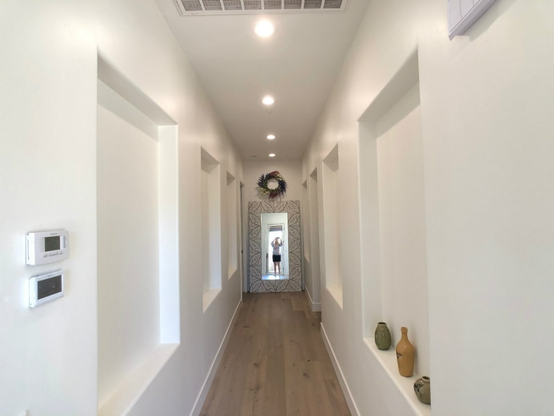 Hallway of Scottsdale Home Remodel
