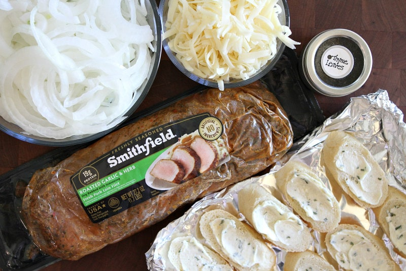 ingredients for French Onion Pork