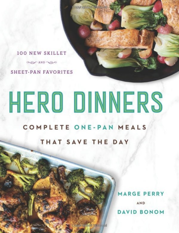 Hero Dinners cookbook cover