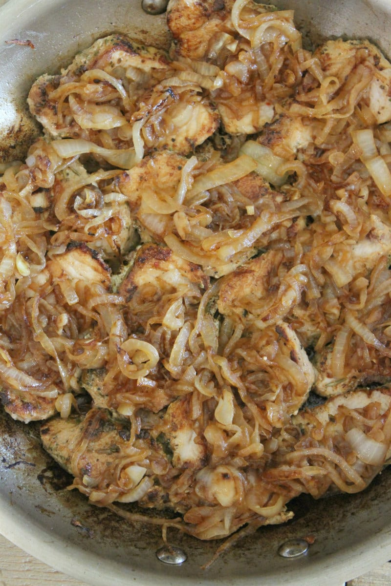 French Onion Pork