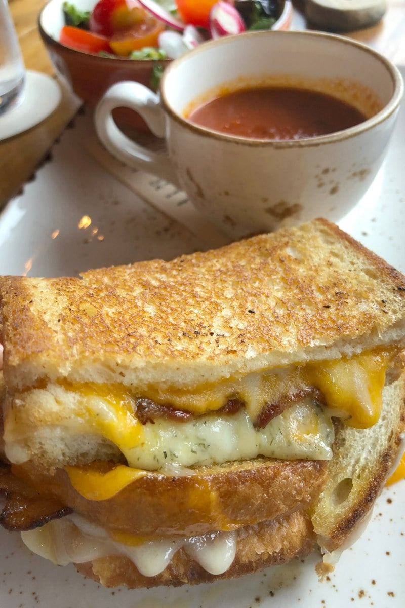 Omni Grove Park Inn Grilled Cheese