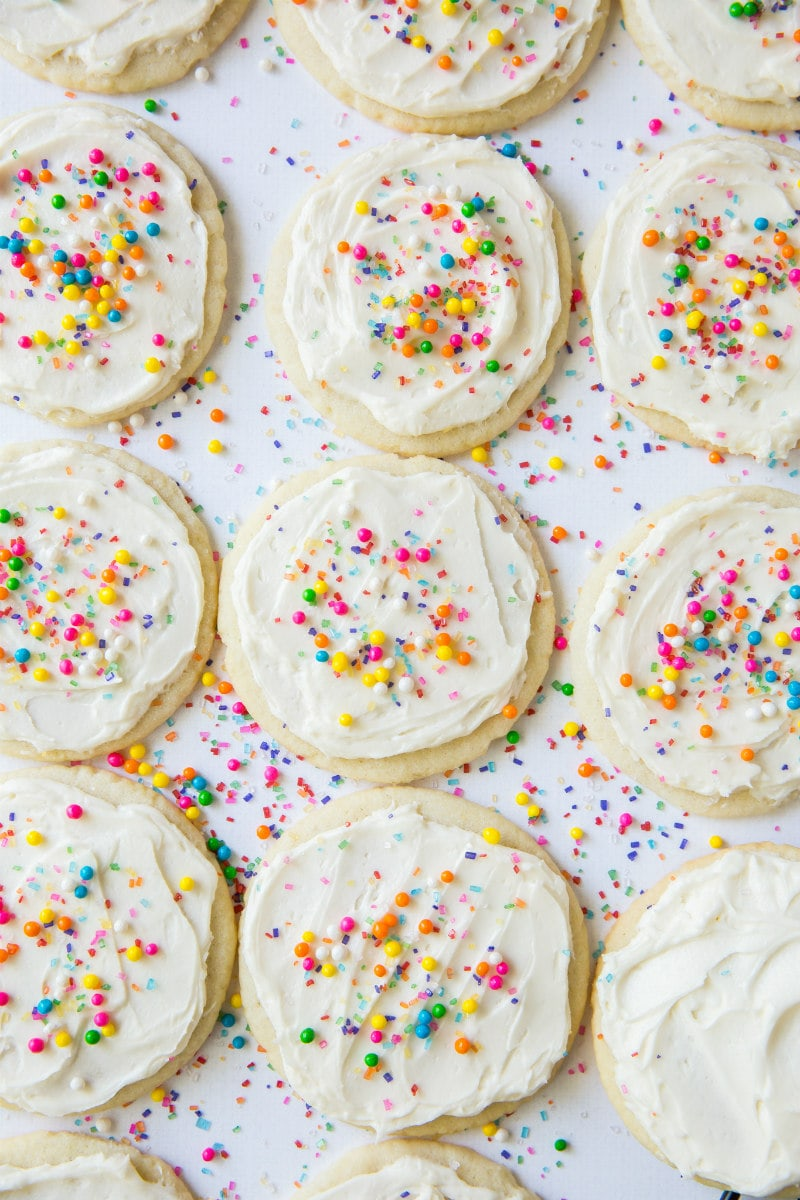 Easy Frosted Sugar Cookies