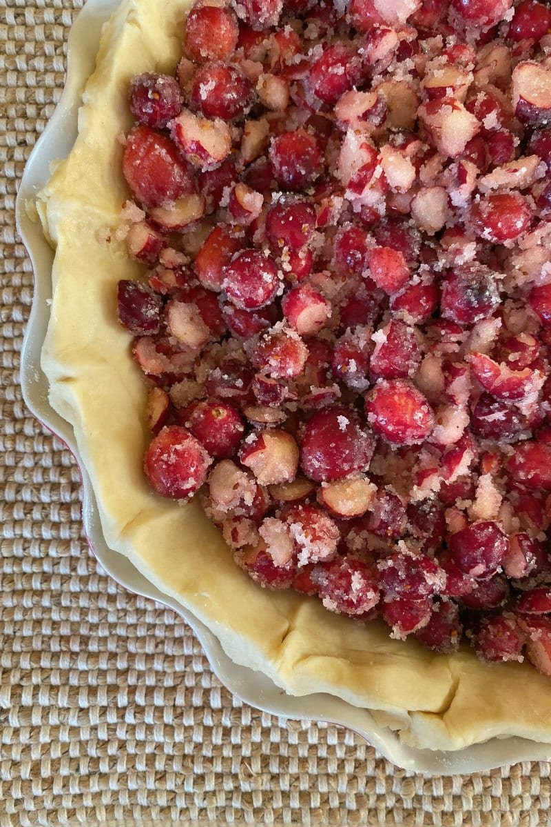 Cranberry Filling for Cranberry Pie