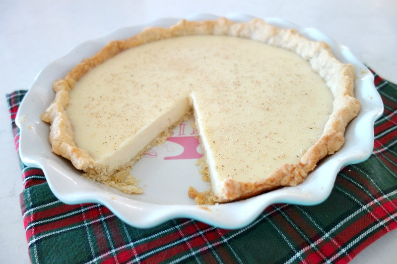 sliced Hoosier Pie