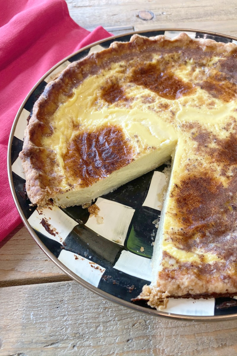 Old Fashioned Custard Pie Recipe Girl