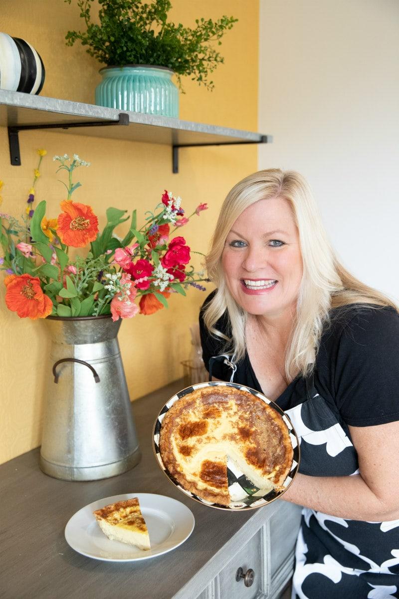 RecipeGirl with Custard Pie