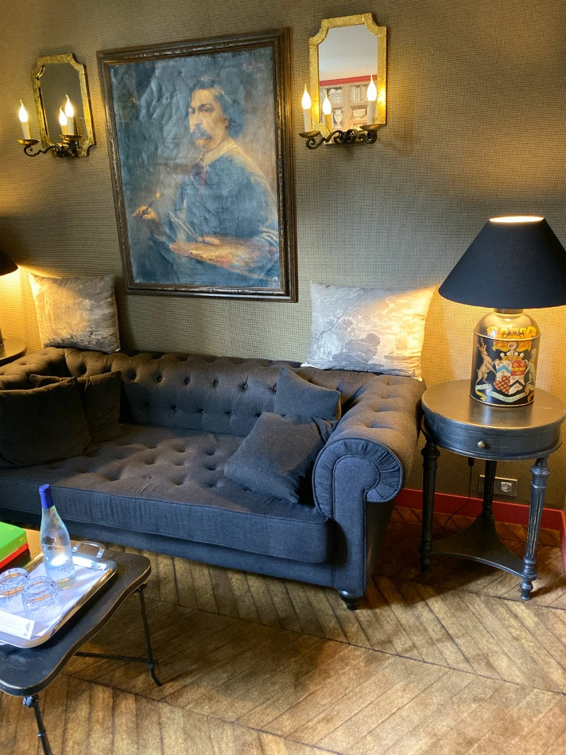 Family Room in Hotel Room at Saint James Paris