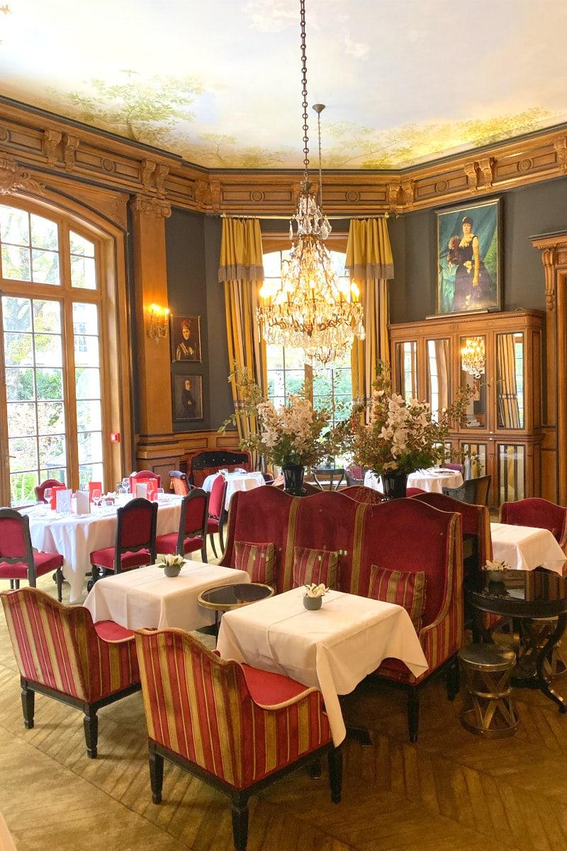 Restaurant at Saint James Paris