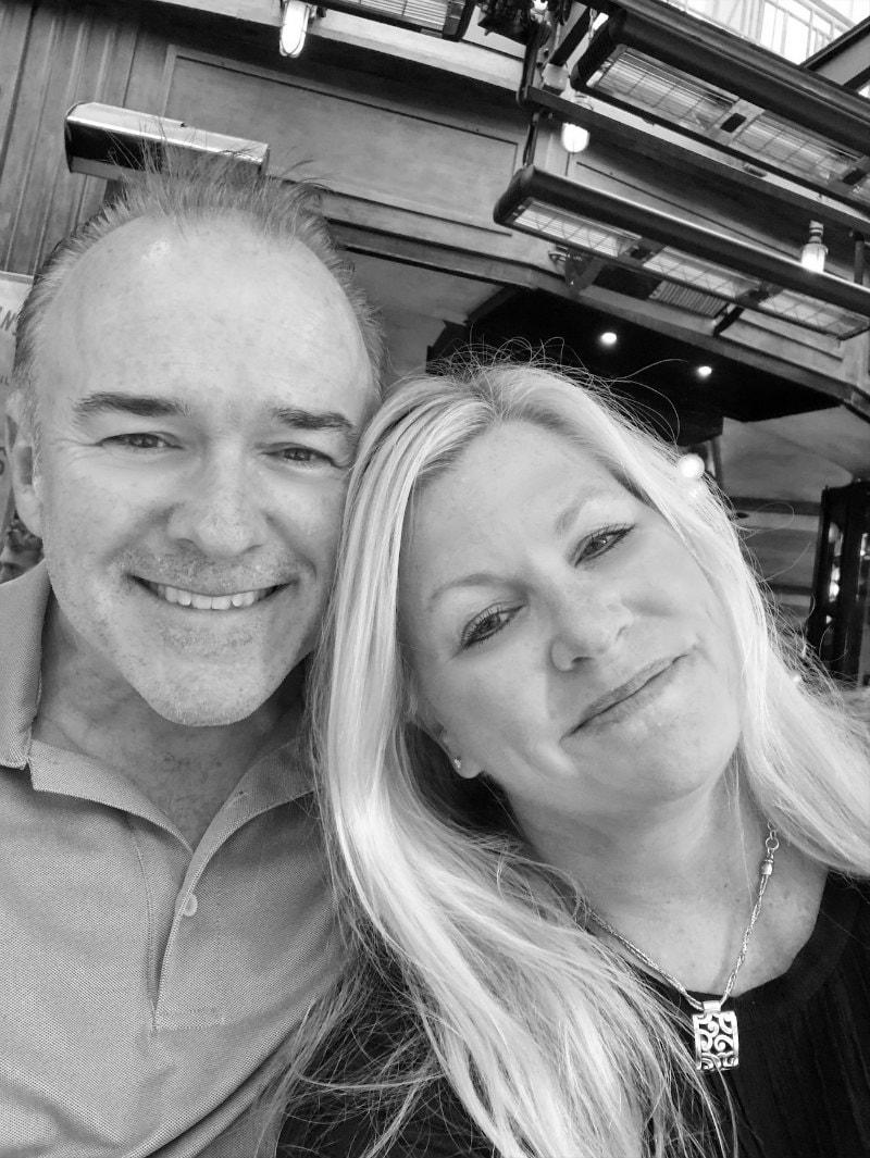RecipeGirl and Husband in Paris