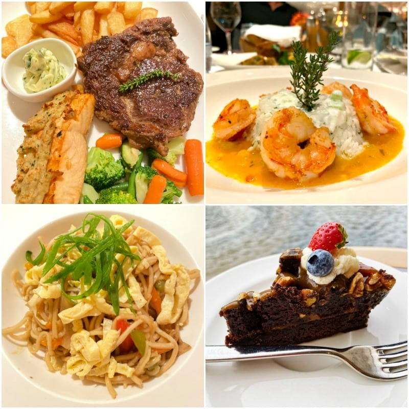 food on a Viking River Cruise