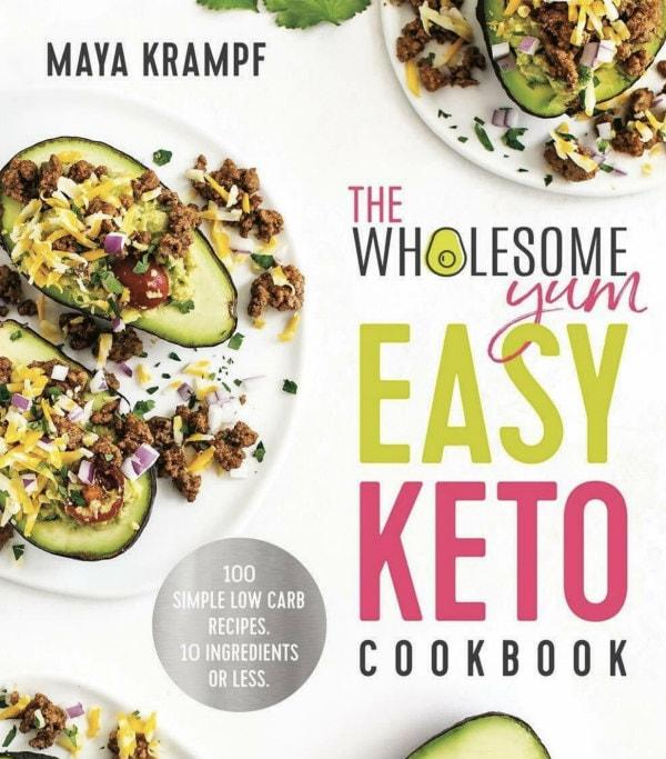 Wholesome Yum Easy Keto Cookbook cover